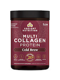 Multi Collagen Protein Powder, Cold Brew Collagen Flavor - 17.6 oz (500 Grams)