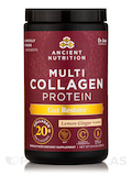 Multi Collagen Protein Gut Restore Powder, Natural Lemon Ginger Flavor - 10.3 oz (292 Grams)