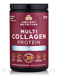 Multi Collagen Protein Powder, Vanilla Flavor - 16.8 oz (475 Grams)