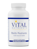 Multi-Nutrients with Iron and Iodine - 180 Capsules