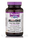 Multi One® Single Daily Multiple (Iron-Free) - 90 Vegetable Capsules