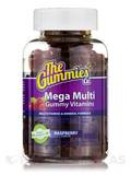Mega Multi Gummy Vitamins (Raspberry Flavor) - 100 Gummy Bears