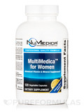 MultiMedica™ for Women - 120 Vegetable Capsules