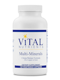 Multi-Minerals Citrate / Malate Formula (No Copper or Iron) - 120 Capsules