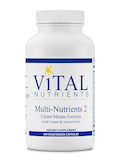 Multi-Nutrients II Citrate / Malate Formula (with Copper and without Iron) 180 Capsules