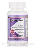 Multiple Mineral Complex Pro-Support -Hypoallergenic - 180 Capsules