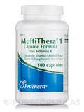 MultiThera® 1 Plus Vitamin K - 180 Vegetable Capsules