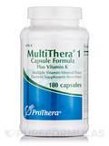 MultiThera® 1 Plus Vitamin K - 180 Vegetable Capsules