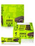 Muscle Bar Chocolate Brownie - Box of 12 Bars (3.17 oz / 90 Grams each)