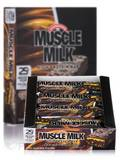 Muscle Milk Chocolate Peanut Caramel - BOX OF 8 BARS
