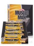 Muscle Milk Bar Vanilla Toffee Crunch - BOX OF 8 BARS