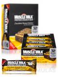 Muscle Milk Crunch Bar Chocolate Peanut Butter - BOX OF 12 BARS