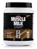 Muscle Milk Light Chocolate - 1.65 lbs (26.4 oz / 750 Grams)