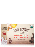 Mushroom Cacao Mix with Cordyceps, Dark + Ginger Flavor - 10 Packets