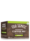Mushroom Coffee Mix with Cordyceps & Chaga, Rich + Smooth Flavor - 10 Packets