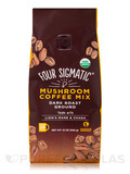 Mushroom Coffee Mix with Lion's Mane & Chaga - Dark Roast Ground - Fruity + Medium Flavor - 12 oz (3