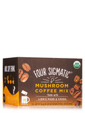 Mushroom Coffee Mix with Lion's Mane & Chaga, Fruity + Medium Flavor - 10 Packets