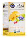 mykind Organics Organic Chewable Vegan D3 2000 IU, Raspberry-Lemon - 30 Vegan Chewable Tablets