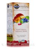 mykind Organics Plant Iron & Organic Herbs, Organic Cranberry-Lime Liquid - 8 oz (240 ml)