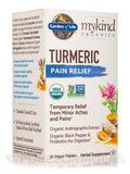 mykind Organics Turmeric Pain Relief - 30 Vegan Tablets