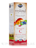 mykind Organics Vitamin C Organic Spray, Cherry-Tangerine - 2 oz (58 ml)