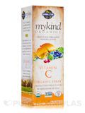 mykind Organics Vitamin C Organic Spray, Orange-Tangerine - 2 oz (58 ml)