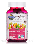 mykind Organics Women's 40+ Gummy Multi, Berry Flavor - 120 Vegan Gummies