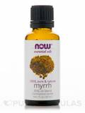 NOW® Essential Oils - Myrrh (100% Pure & Natural - 20% Oil Blend) - 1 fl. oz (30 ml)