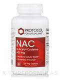 NAC (N-Acetyl Cysteine) 600 mg - 100 Veg Capsules
