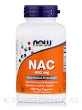 NAC 600 mg - 100 Vegetarian Capsules