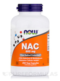 NAC 600 mg 250 Vegetarian Capsules