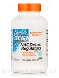 NAC Detox Regulators - 180 Veggie Capsules