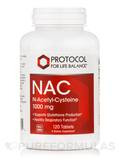 NAC (N-Acethyl Cysteine) 1000 mg - 120 Tablets
