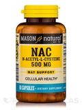 NAC N-Acetyl L-Cysteine 500 mg - 60 Capsules