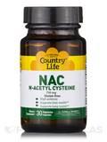 NAC N-Acetyl Cysteine 750 mg 30 Vegetarian Capsules
