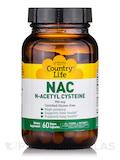NAC N-Acetyl Cysteine 750 mg - 60 Vegetarian Capsules