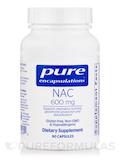 NAC (N-Acetyl-l-Cysteine) 600 mg - 90 Capsules