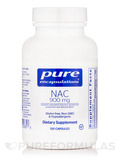 NAC (N-Acetyl-l-Cysteine) 900 mg 120 Vegetable Capsules