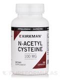 N-Acetyl Cysteine 100 mg -Hypoallergenic 100 Capsules