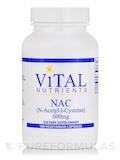 NAC (N-Acetyl Cysteine) 600 mg 100 Capsules