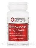 Nattokinase 100 mg - 60 Vegetarian Capsules