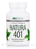 Natura 401-Ductless Glands - 120 Vegetarian Capsules