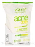 Natural AcneDote Clean & Treat 30 Wet Towelettes