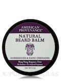 Natural Beard Balm Horseshoes & Hand Grenades (Ylang Ylang, Bergamot, Clove) - 2 oz