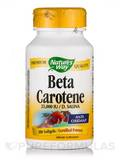 Natural Beta Carotene 100 Softgels