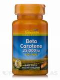 Beta Carotene 25,000 IU 30 Softgels