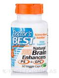 Natural Brain Enhancers with GPC & PS - 60 Veggie Capsules