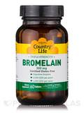 Natural Bromelain 500 mg 60 Tablets