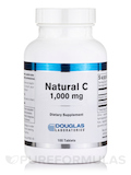 Natural C 1000 mg with Bioflavonoids - 100 Tablets
