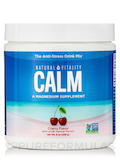 Natural Calm®, Cherry Flavor - 8 oz (226 Grams)